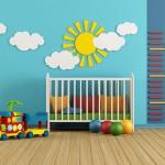 Kinderzimmer – bunte und pflegeleichte Wände