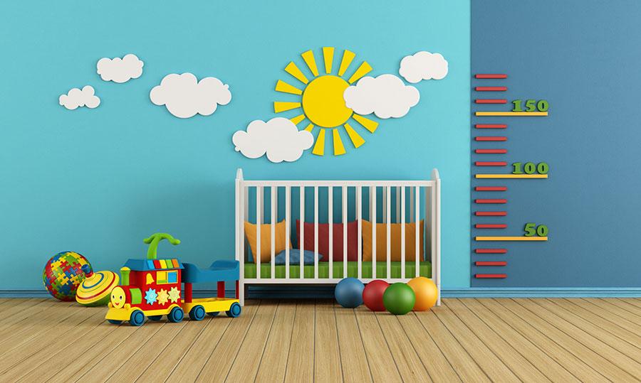 Kinderzimmer Bunte Und Pflegeleichte Wände Rundumdiewandde