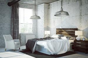 Wände im Schlafzimmer – wichtig für Erholung