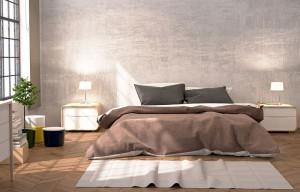 Wände im Schlafzimmer - Feuer und Sinnlichkeit