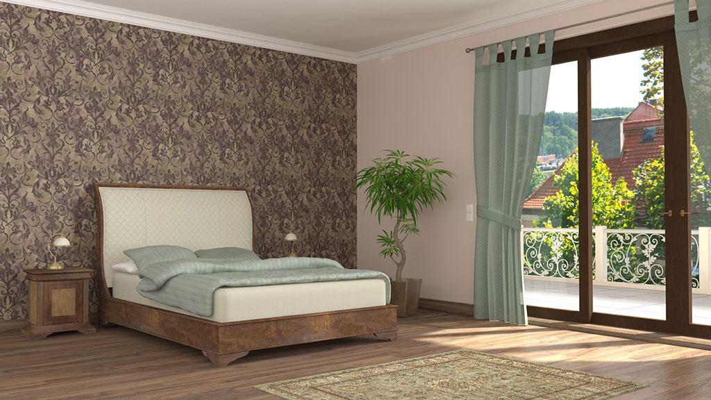 Tapete fürs Schlafzimmer - hilfreiche Tipps - Rundumdiewand.de